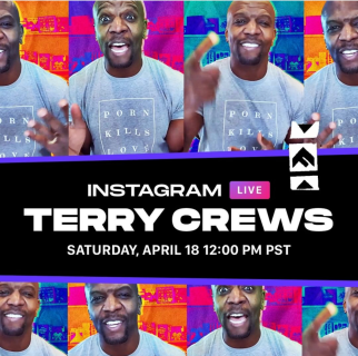 Terry Crews Instagram Live